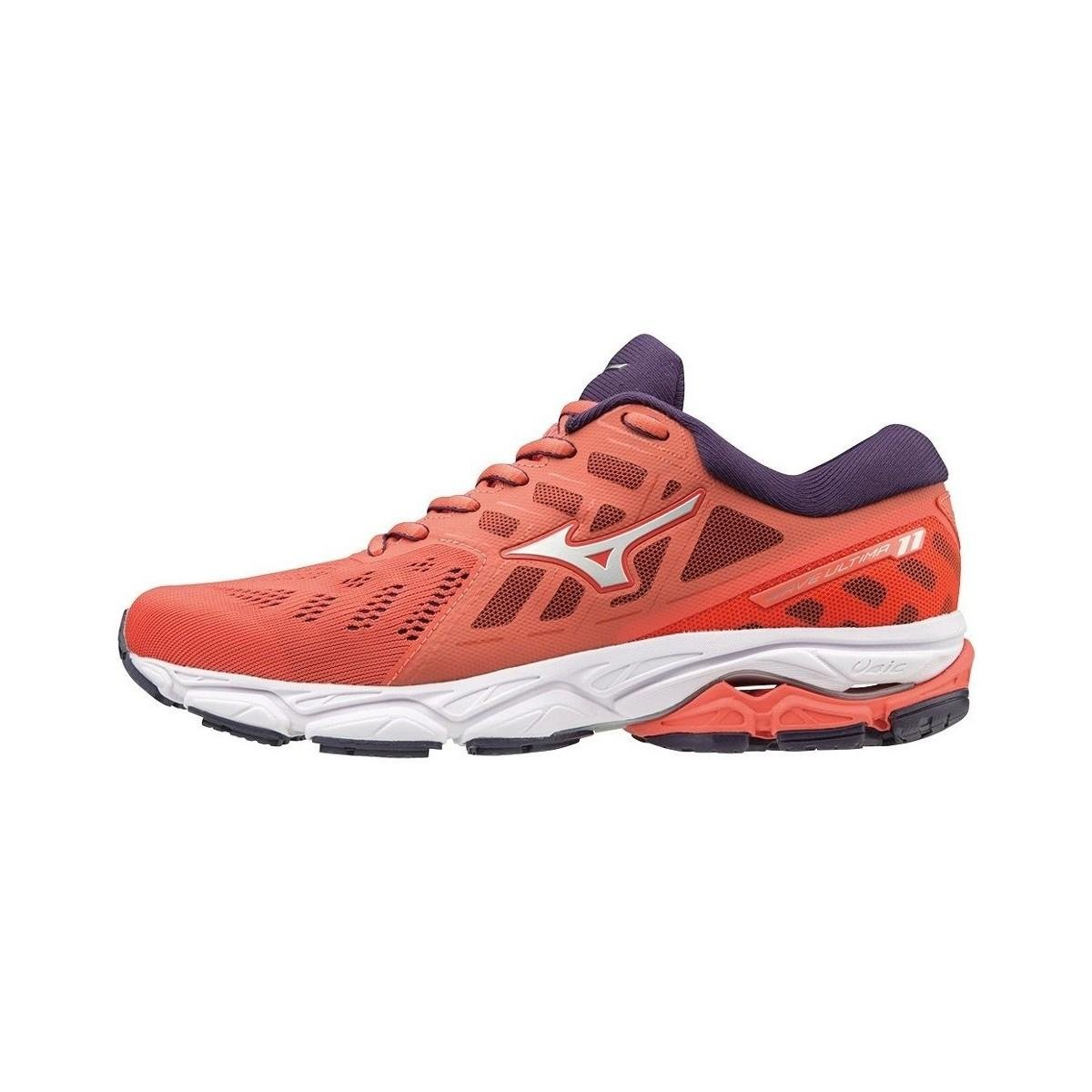 08ff20551ff7 Mizuno Wave Ultima 11 Women's Shoes (trainers) In Red in Red - Lyst