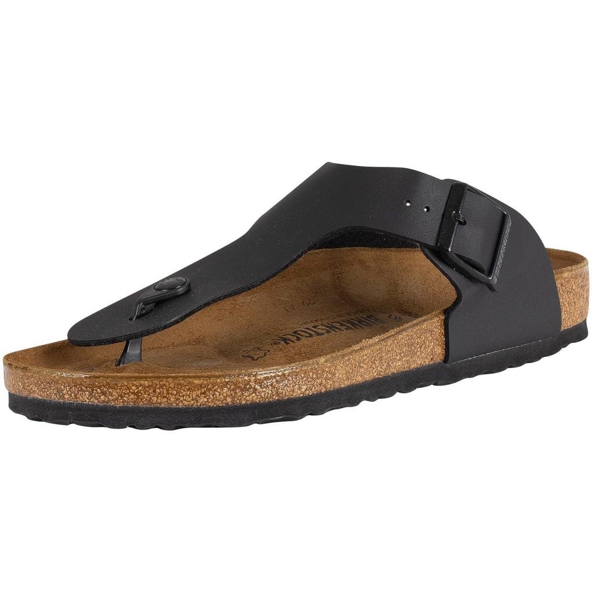 690fe0a65 Birkenstock. Men's Ramses Bs Leather Sandals, Black Men's Mules ...