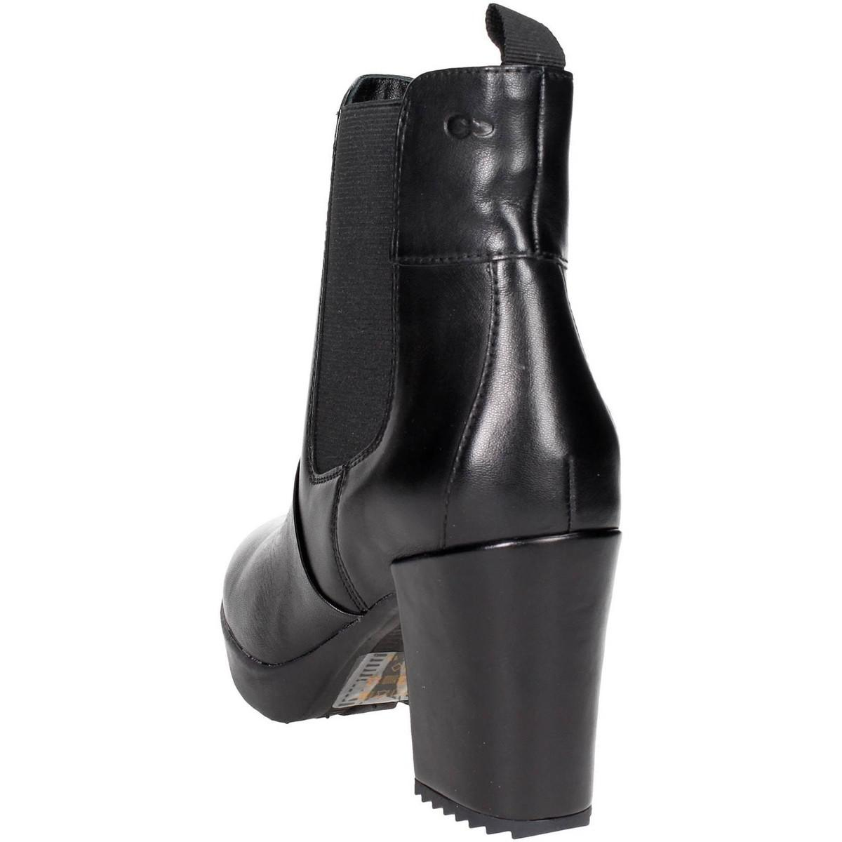 75f586843b Stonefly - 107340 000 Ankle Boots With Heels Women Black Women s Low Boots  In Black -. View fullscreen