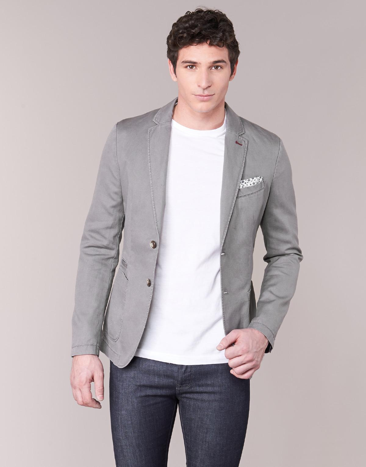 Maskiol Grey Benetton In For Men's Lyst Gray Jacket Men 4ZqqndxrIt