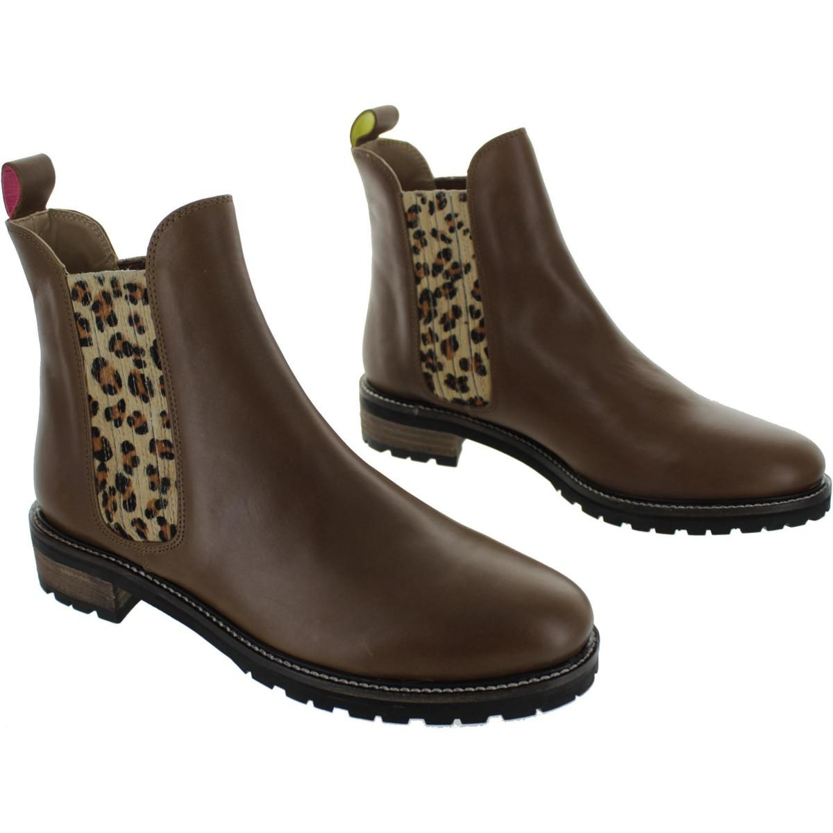 866e3e63b12 Joules Clarendon Women's Low Boots In Brown in Brown - Lyst