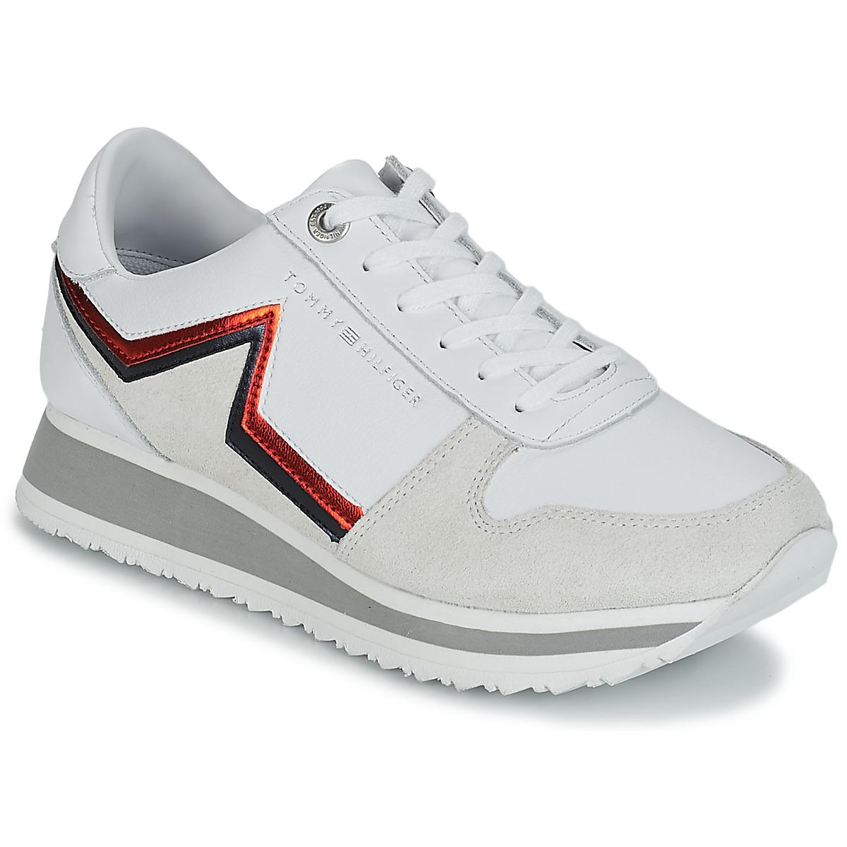 62159e393 Tommy Hilfiger Tommy Star Retro Runner Shoes (trainers) in White - Lyst