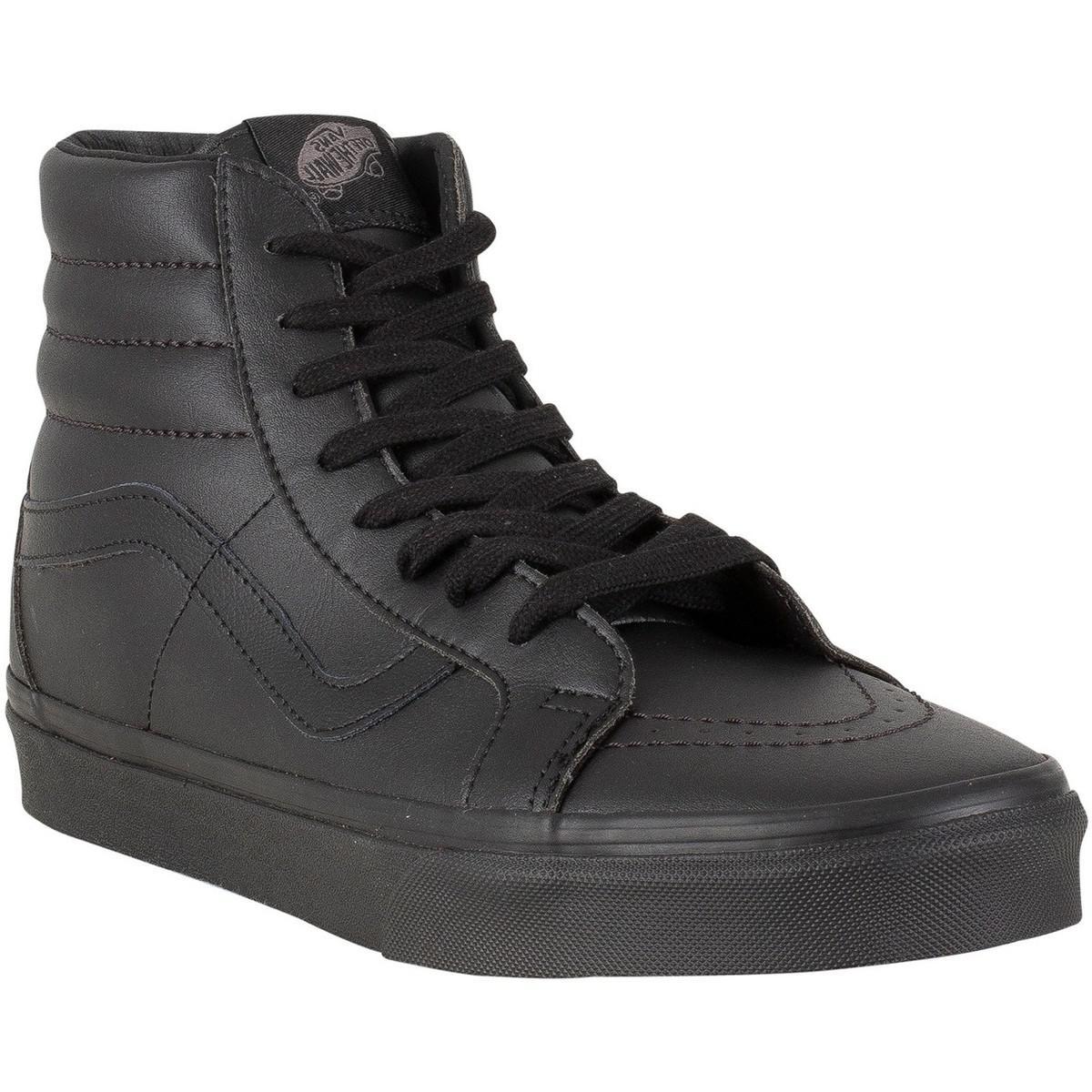 429d1ce35235c6 Vans Men s Sk8-hi Reissue Leather Trainers