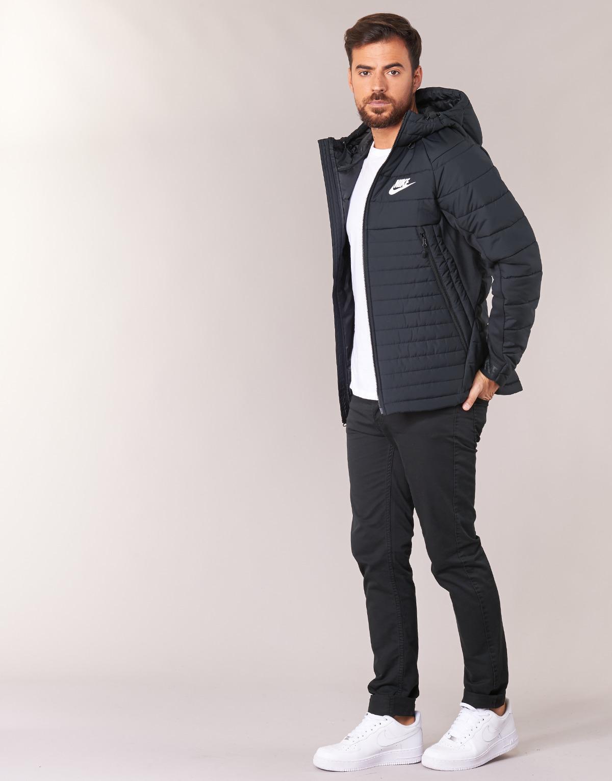 Nike Nsw Syn Fill Av15 Jkt Hd Men s Jacket In Black in Black for Men ... 138dd4961
