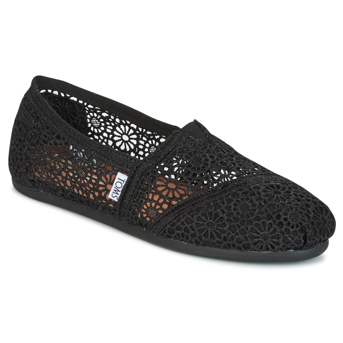 bfe34ae93a9bf TOMS 'classic' Crochet Slip-on (women) in Natural - Save 15% - Lyst