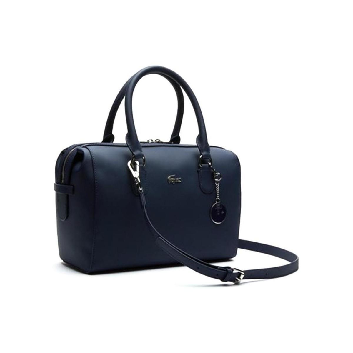 5cfa25dd77 BOSTON BAG femmes Sac à main en bleu Lacoste pour homme en coloris ...