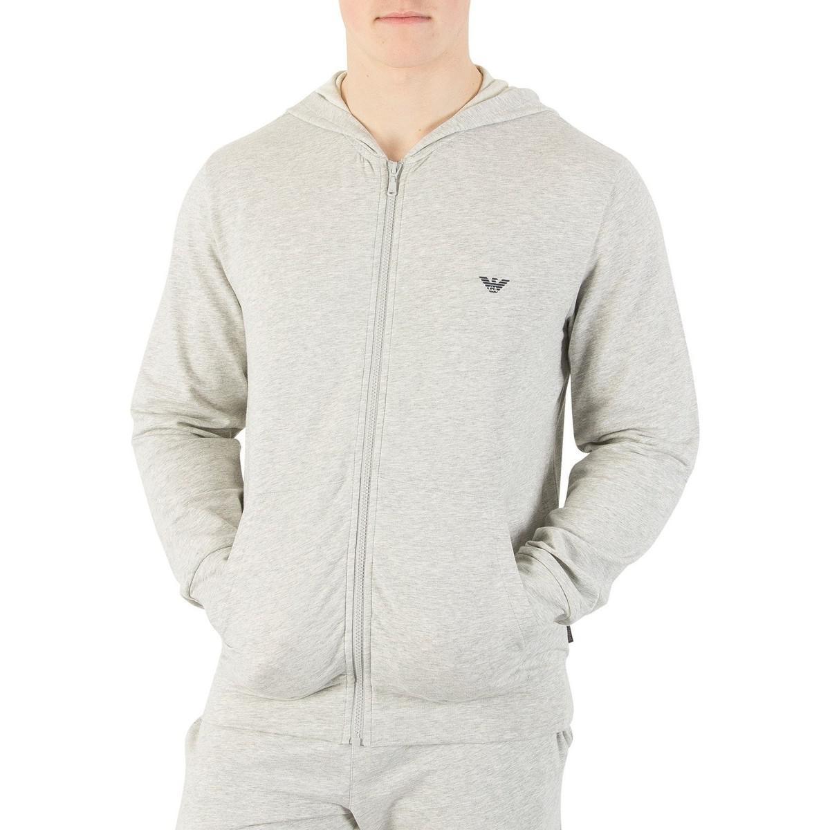 Lyst - Homme Zip Loungewear Haut, Gris hommes Sweat-shirt en Gris ... 5b7506b3f71b