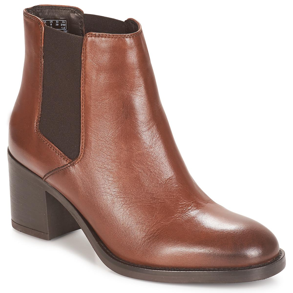 fc5ef529839 Clarks Mascarpone Bay Low Ankle Boots in Brown - Save 12% - Lyst