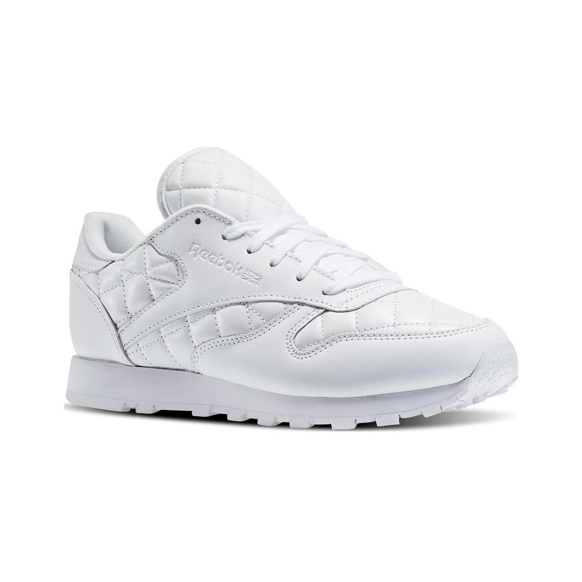 c8ac338cfd72 Gallery. Previously sold at  Spartoo · Women s Reebok Classic Leather ...