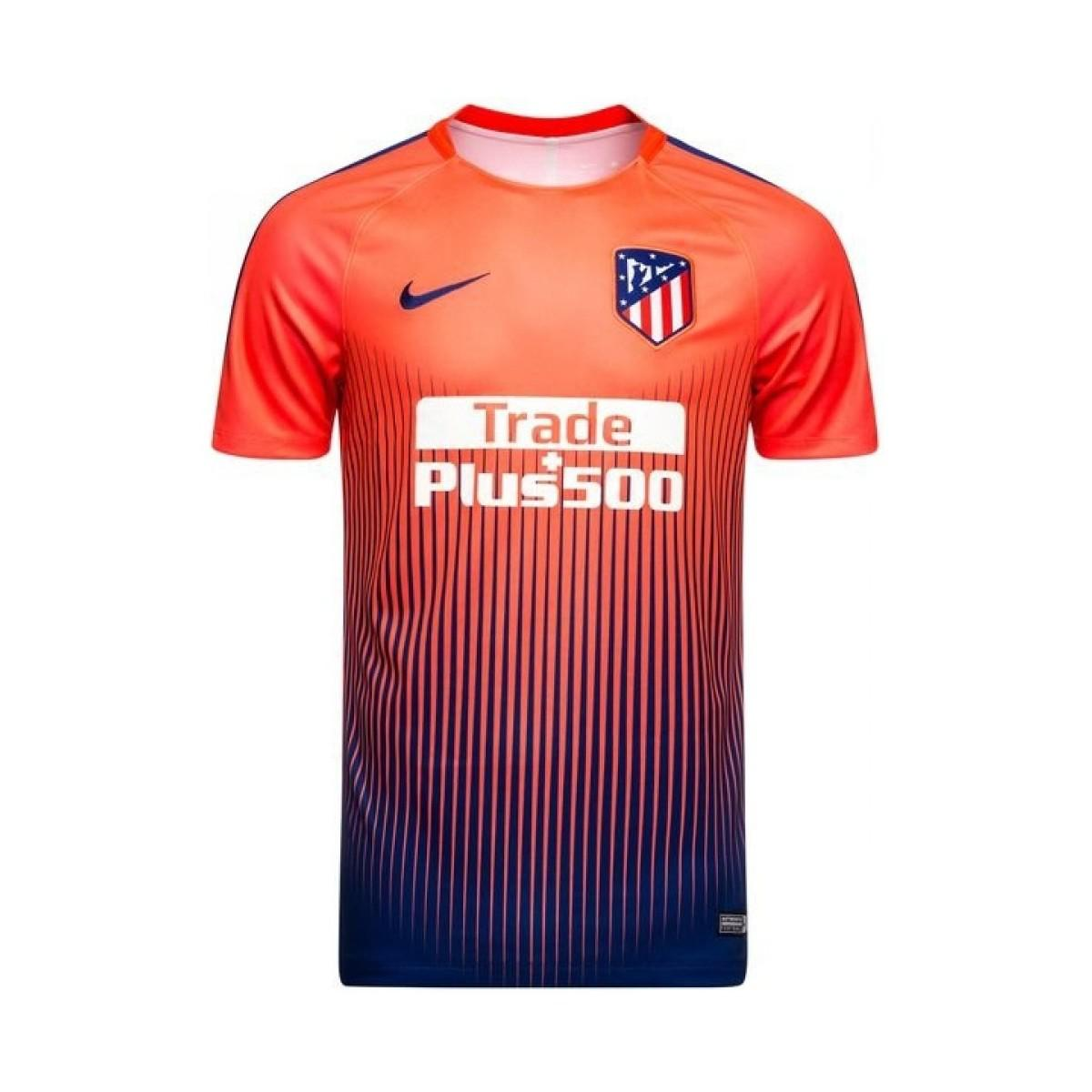 Nike 2018-2019 Atletico Madrid Pre-match Dry Training ...