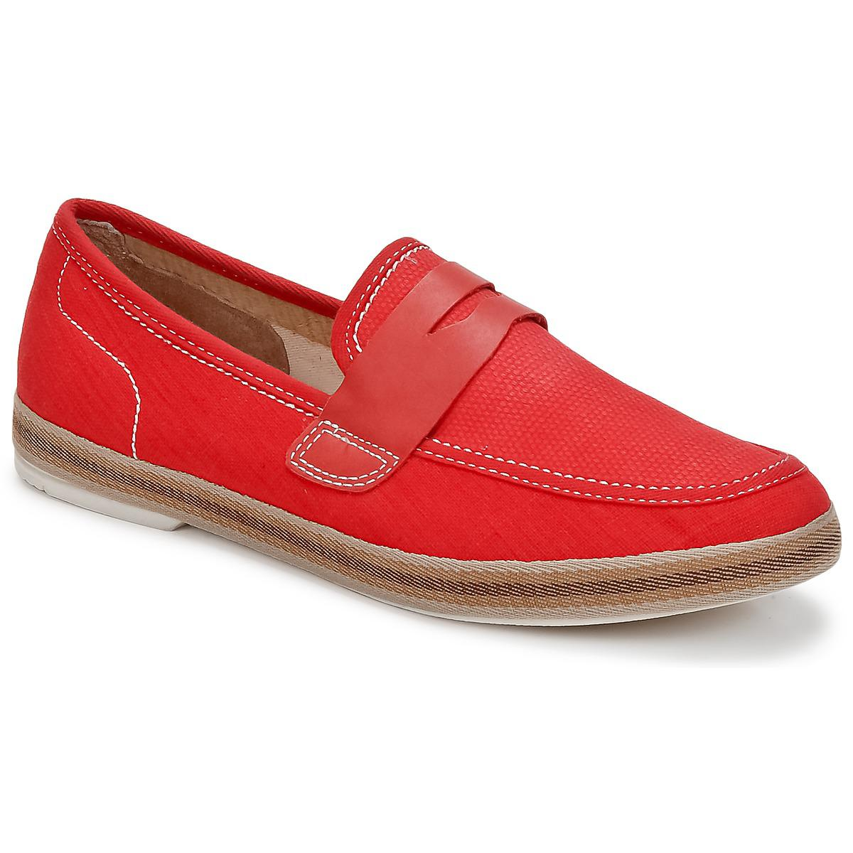 e0abf3e33ef Hudson Jeans Antara Loafers   Casual Shoes in Red for Men - Lyst