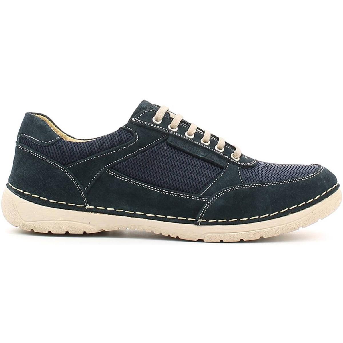 Lumberjack Sm10905 001 M02 Schuhes With Laces Man Man Laces Navy Bleu Men's ... f86055