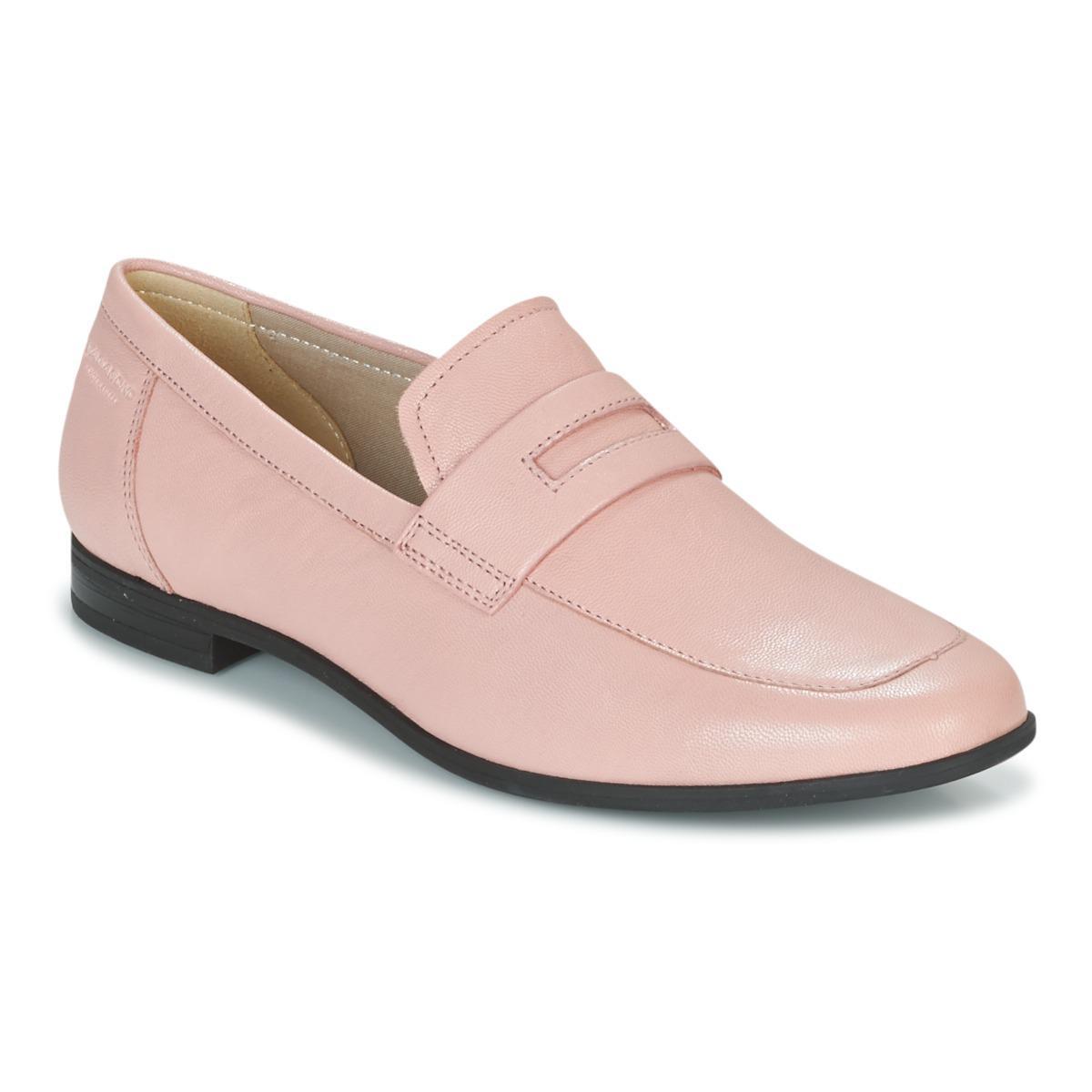 Vagabond Women's Marilyn Suede Slip On Flat Loafer Pink vUPwB