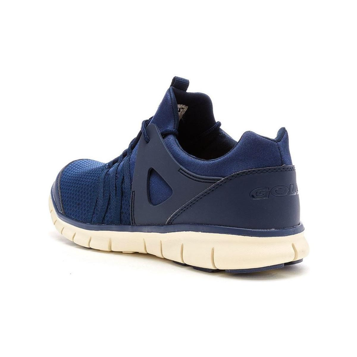 Gola  Gola Akita Trainers In Navy Blue Off White Ama758ew Men's Shoes  trainers  View Fullscreen