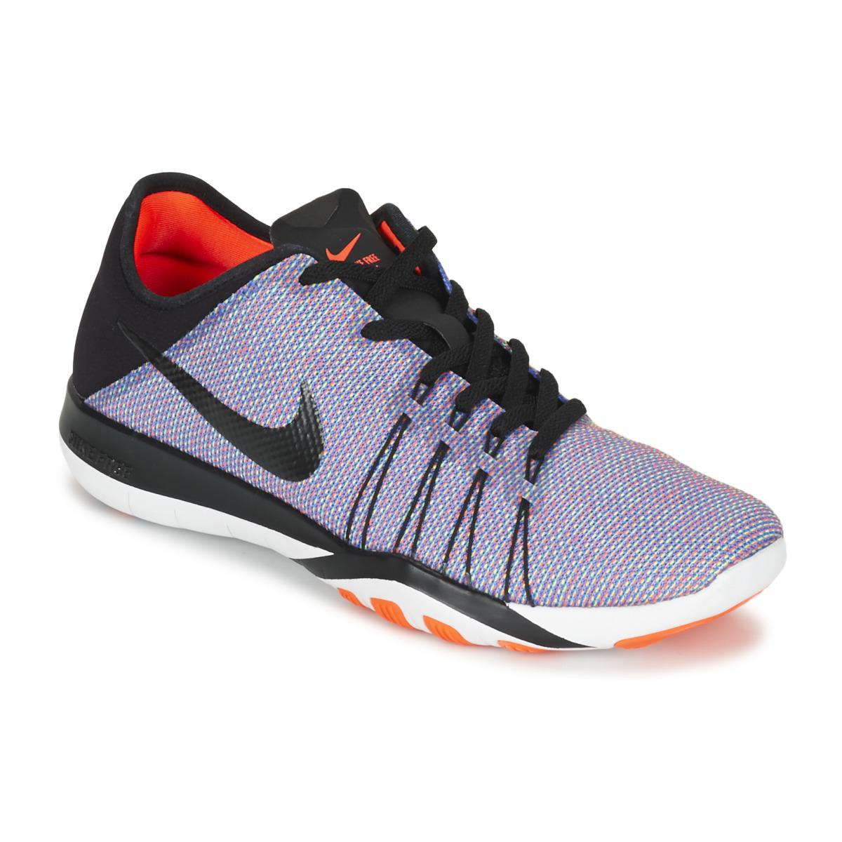new style 9d6ed 816d0 netherlands nike free 5.0 tr flyknit bright citrus black pink womens  trainer size uk 6 youtube 23c50 a4c46  uk nike free trainer 6 print w womens  trainers ...