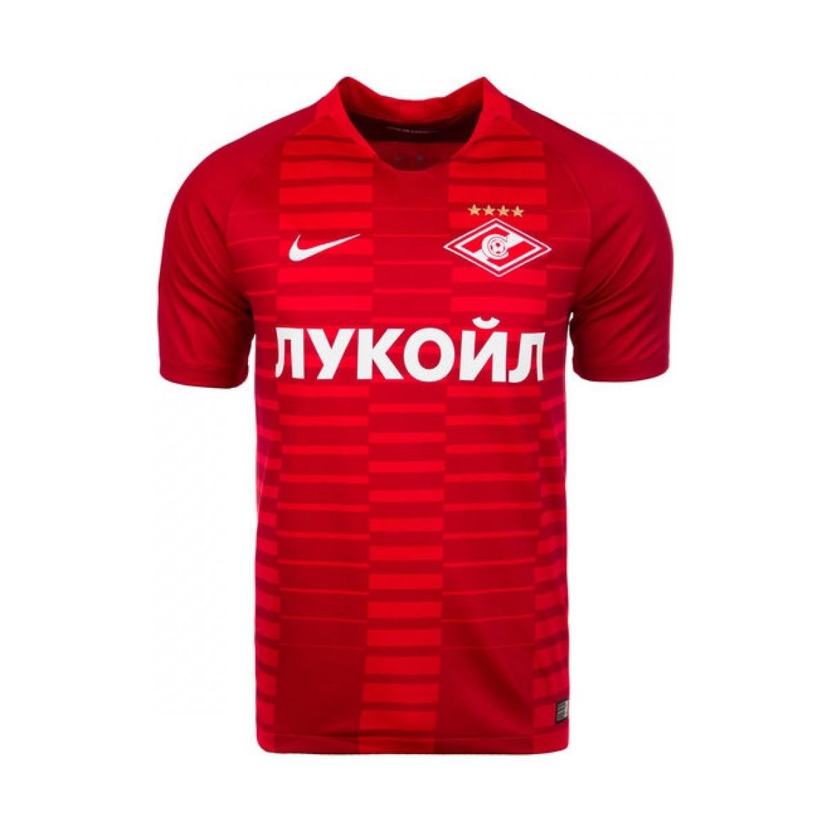 Nike 2018-2019 Spartak Moscow Home Football Shirt Women s T Shirt In ... 4176597f6