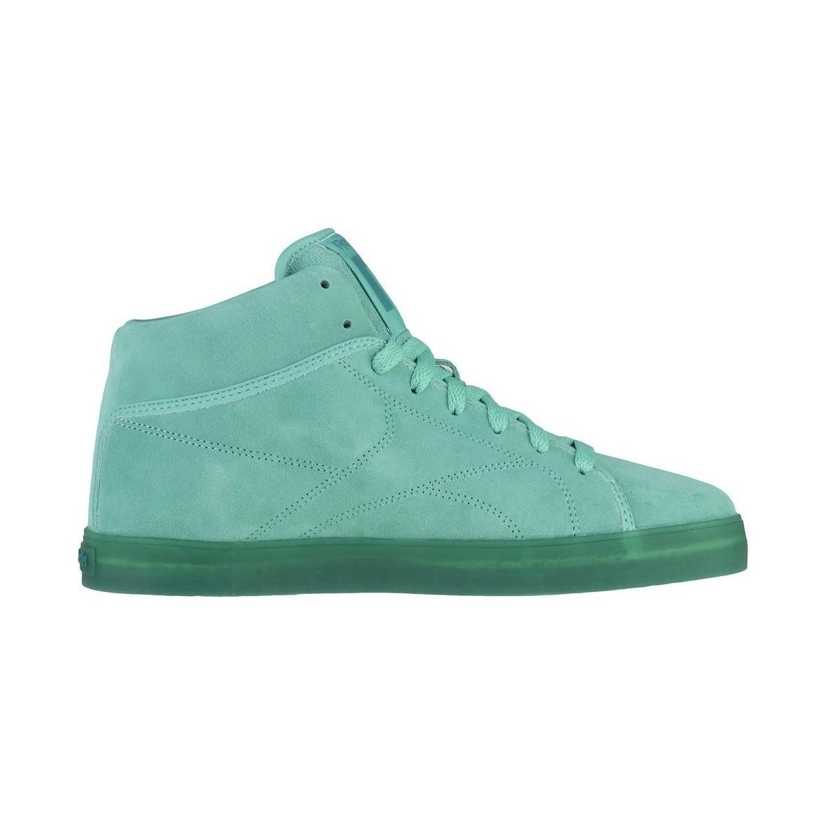f3f09fdef94b17 Reebok T Raww Men s Shoes (high-top Trainers) In Green in Green for ...