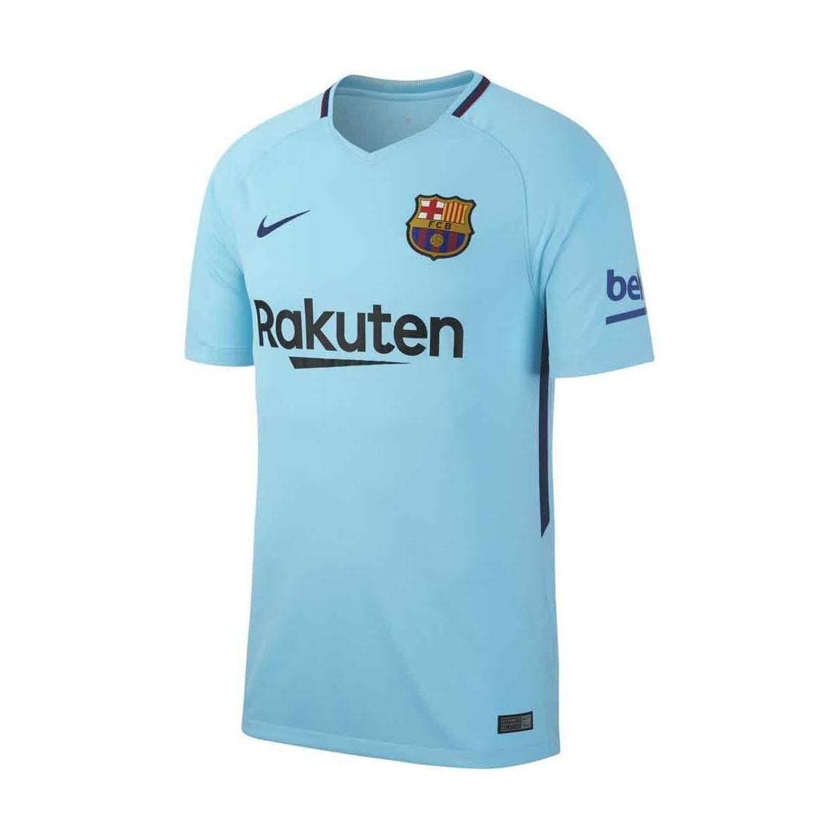 67455be60 Nike 2017-2018 Barcelona Away Shirt (rivaldo 10) Women s T Shirt In ...