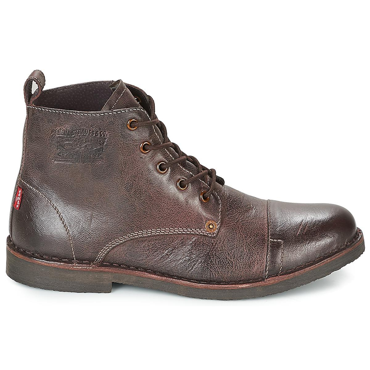 31981e54 Levi's Levis Track Men's Mid Boots In Brown in Brown for Men - Lyst
