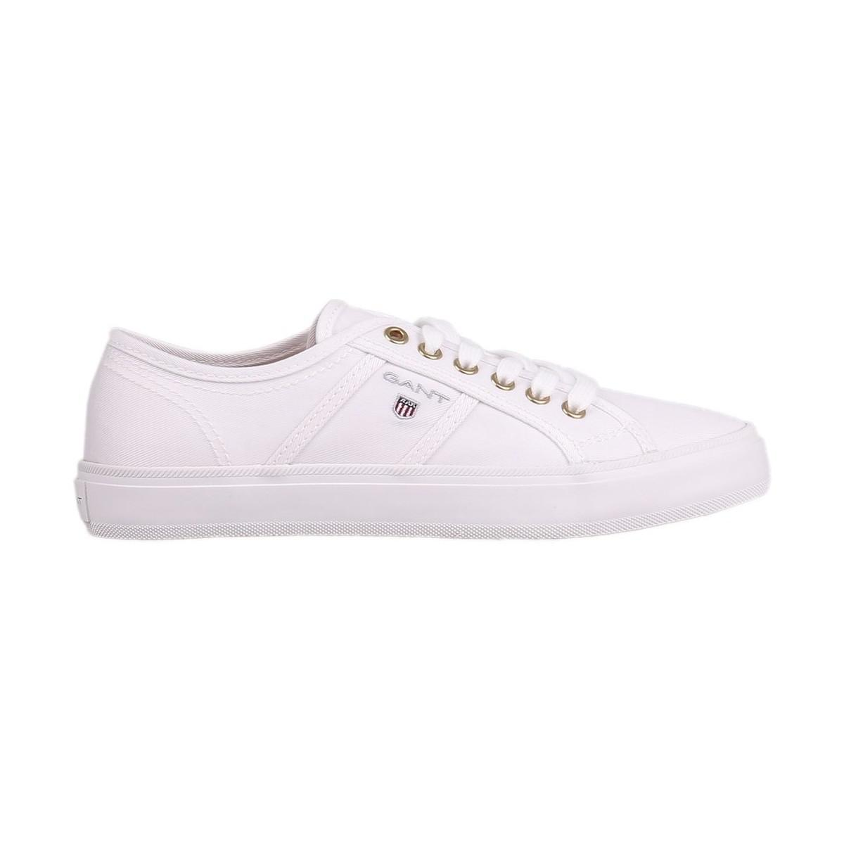 c5644b5b52 GANT Zoe Shoes Woman Women's Shoes (trainers) In White in White - Lyst