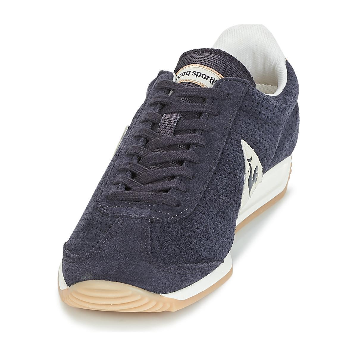 2159641bd247 Le Coq Sportif Quartz Premium Women s Shoes (trainers) In Blue in ...
