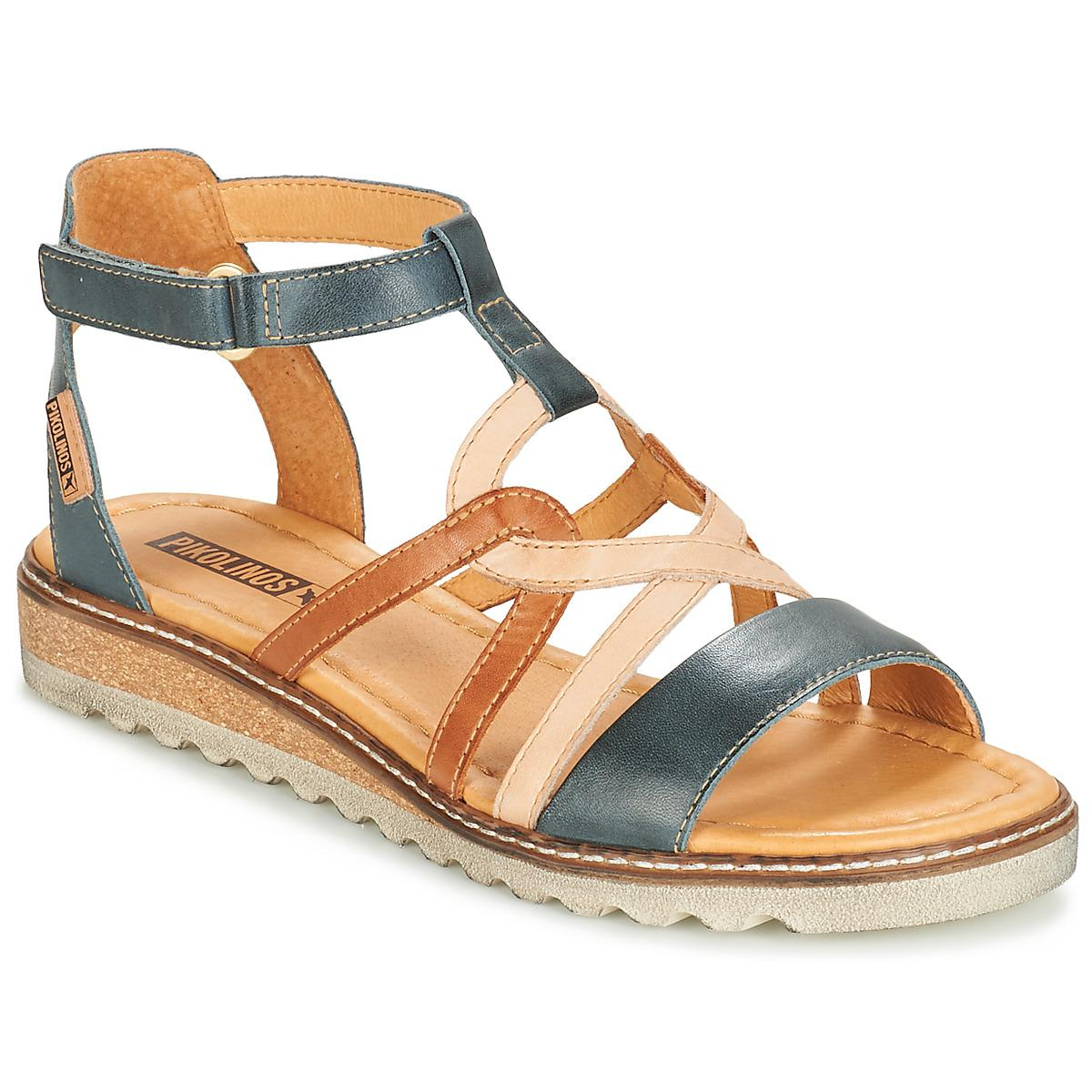 8608e9200d4f Pikolinos - Alcudia W1l Women s Sandals In Blue - Lyst. View fullscreen