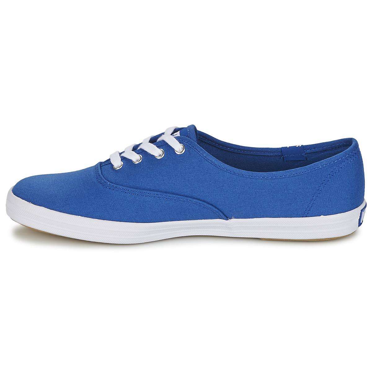 2594c16f3 Keds Champion Seasonal Solids Women s Shoes (trainers) In Blue in Blue -  Lyst