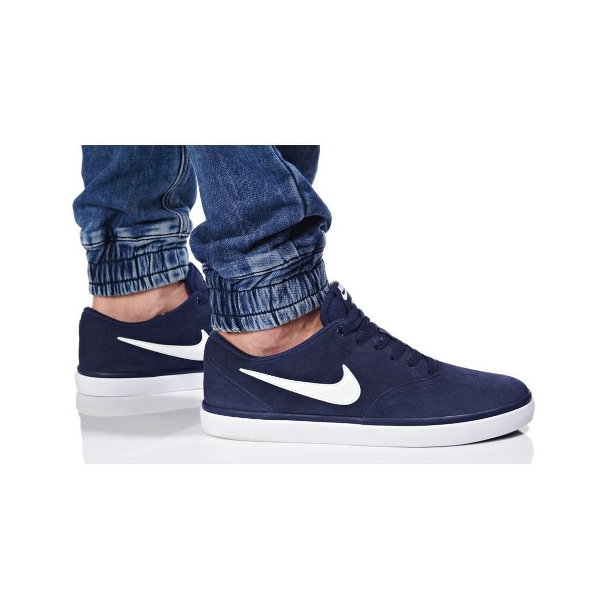 abfc573c3061 Nike - Blue Sb Check Solar Men s Shoes (trainers) In Multicolour for Men -.  View fullscreen