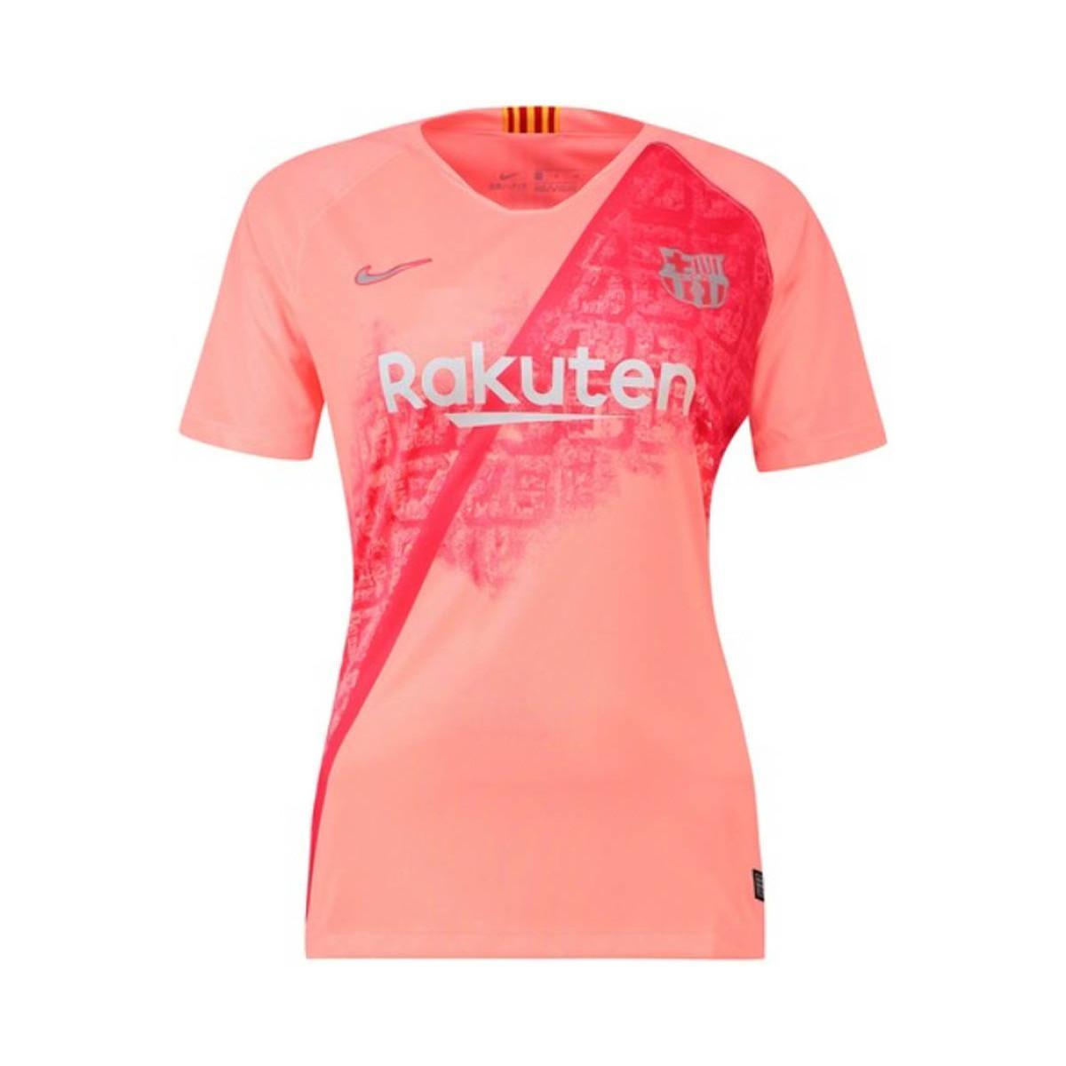 aba31dd7d Nike 2018-2019 Barcelona Third Football Shirt Women s T Shirt In ...