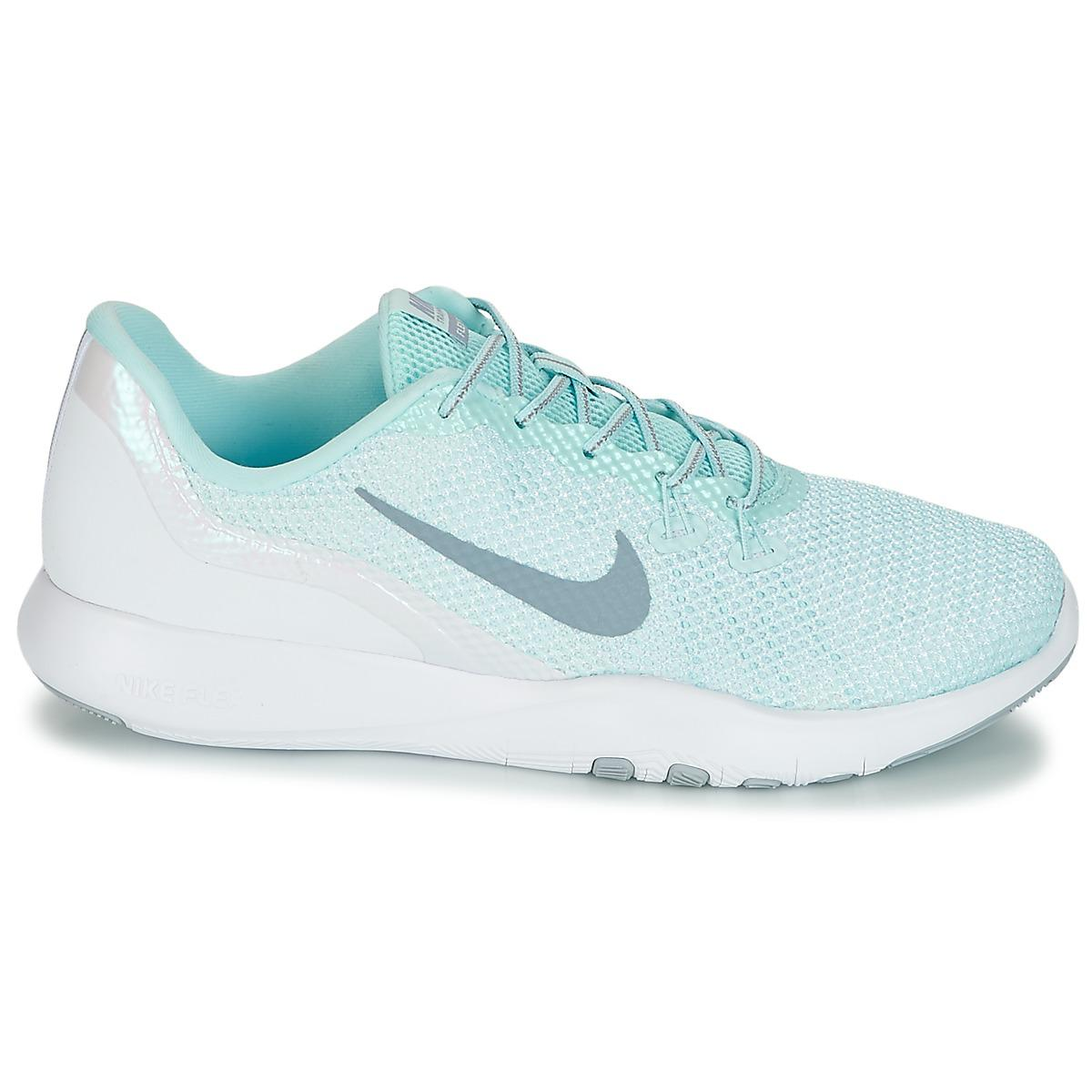 ad49d4b01656 Nike Flex Trainer 7 Reflect W Women s Trainers In White in White - Lyst