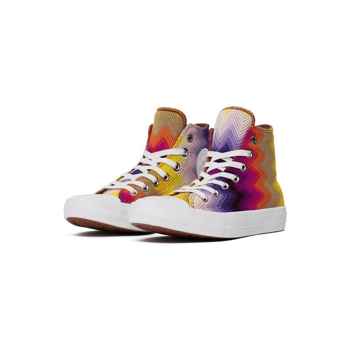 83fa82c997e6 Converse Chuck Taylor All Star Ii X Missoni Men s Shoes (high-top ...