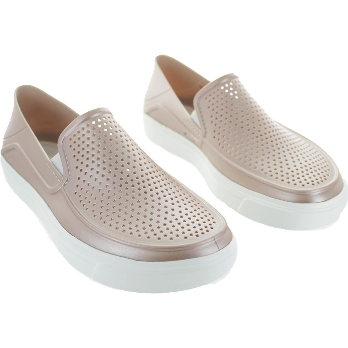 40526ab03a42 Crocs™ Citilane Roka Women s Loafers   Casual Shoes In Silver in ...
