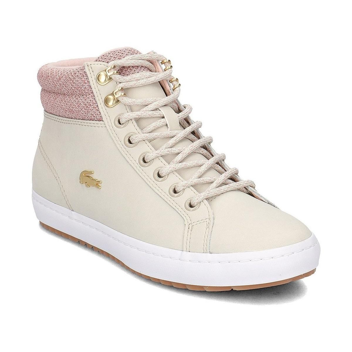 798dfc9fb575 Lacoste 736caw00457f8 Women s Shoes (high-top Trainers) In ...