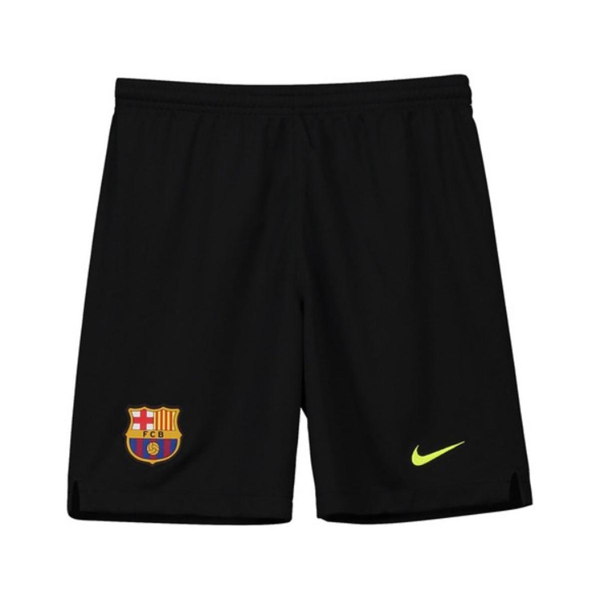 Nike. 2018-2019 Barcelona Home Goalkeeper Shorts - Kids Men s Shorts In  Black 826a833db