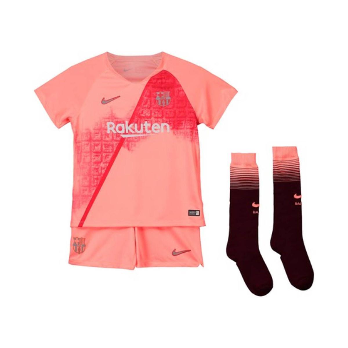 5d9264d1f Nike 2018-2019 Barcelona Third Little Boys Mini Kit (rivaldo 10 ...