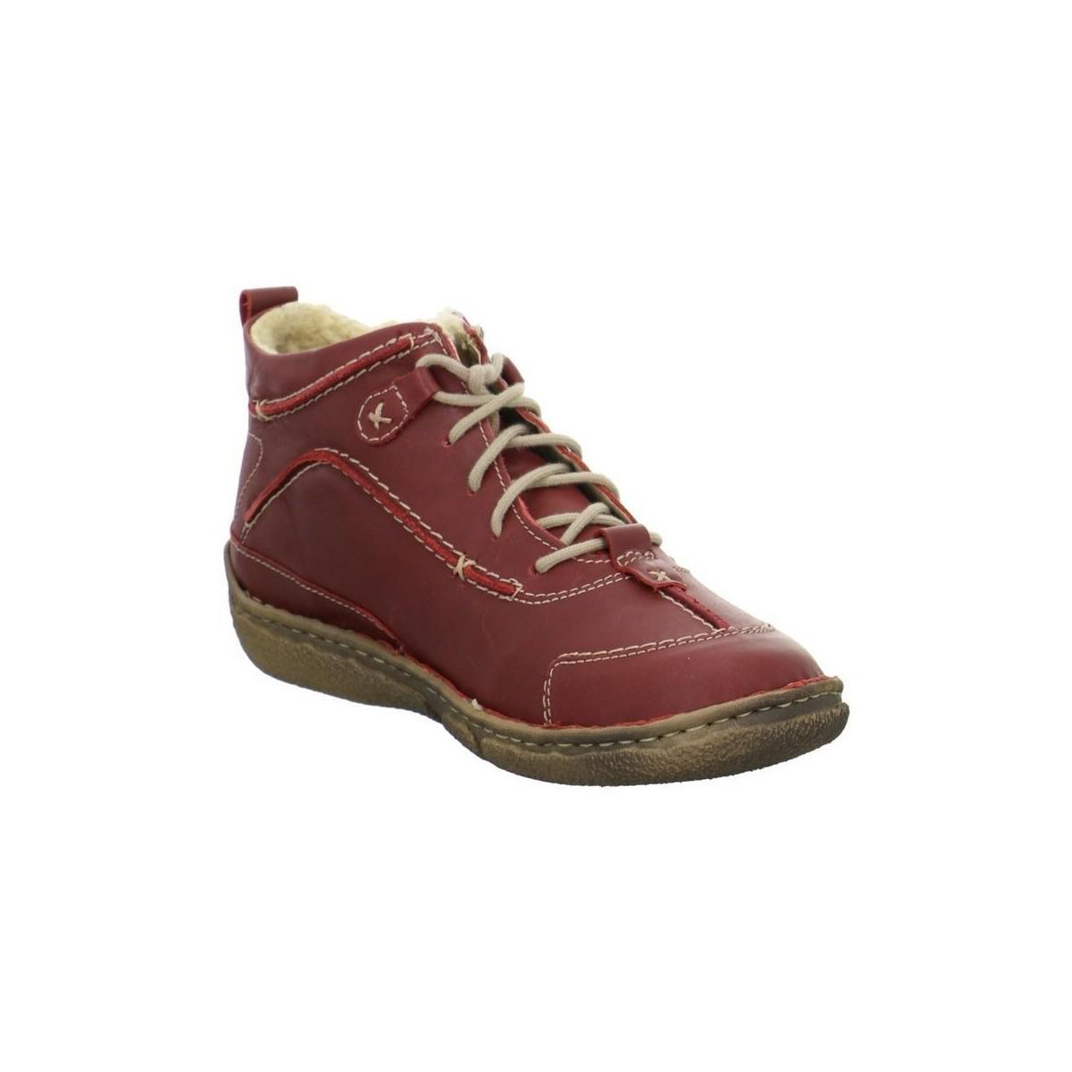 0365038726eae Josef Seibel Nikki Booties Women s Shoes (high-top Trainers) In Red ...