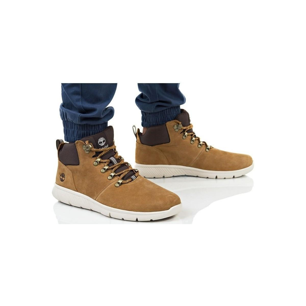 Timberland Boltero Leather Shoe Men's Hiking