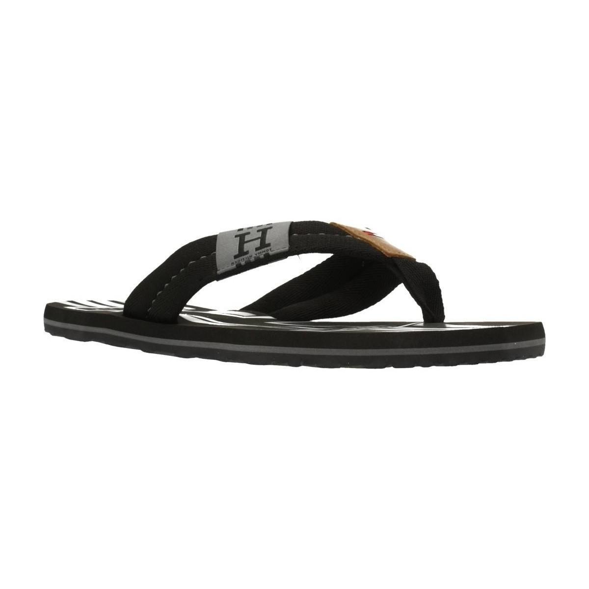 3bbf02ef9e5 Tommy Hilfiger. Badge Textile Beach Sand Men s Flip Flops   Sandals ...