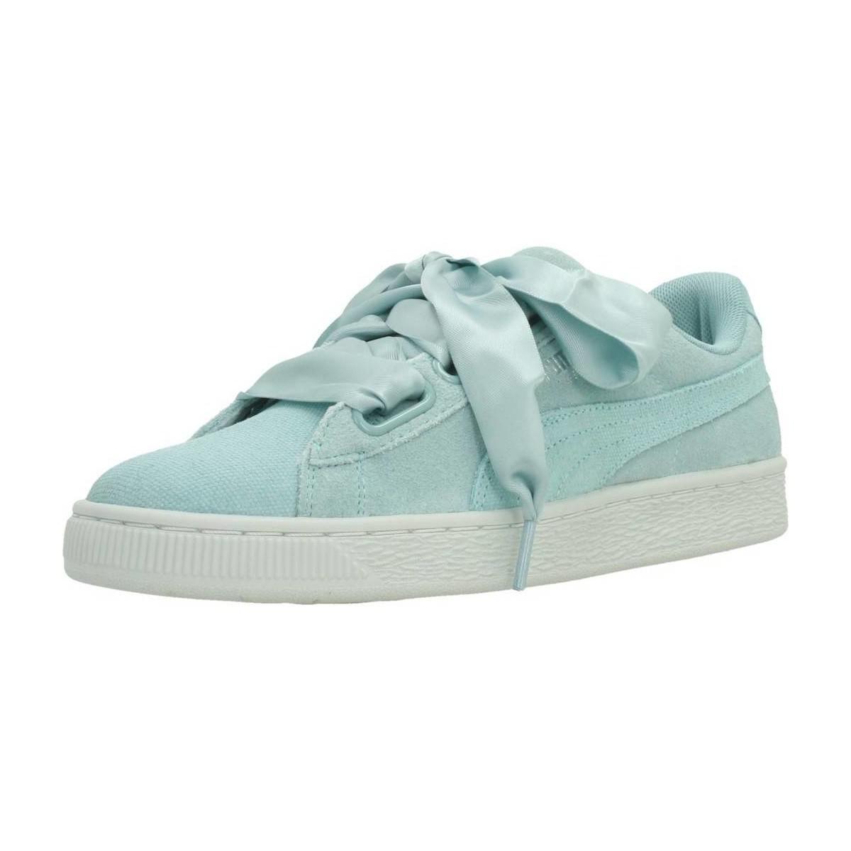 3e3b9389e0f88b Puma Heart Pebble Women s Shoes (trainers) In Blue in Blue - Lyst