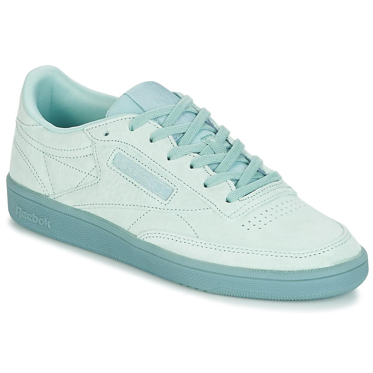 fd75c38c071e Reebok Club C 85 Lace Women s Shoes (trainers) In Green in Green - Lyst
