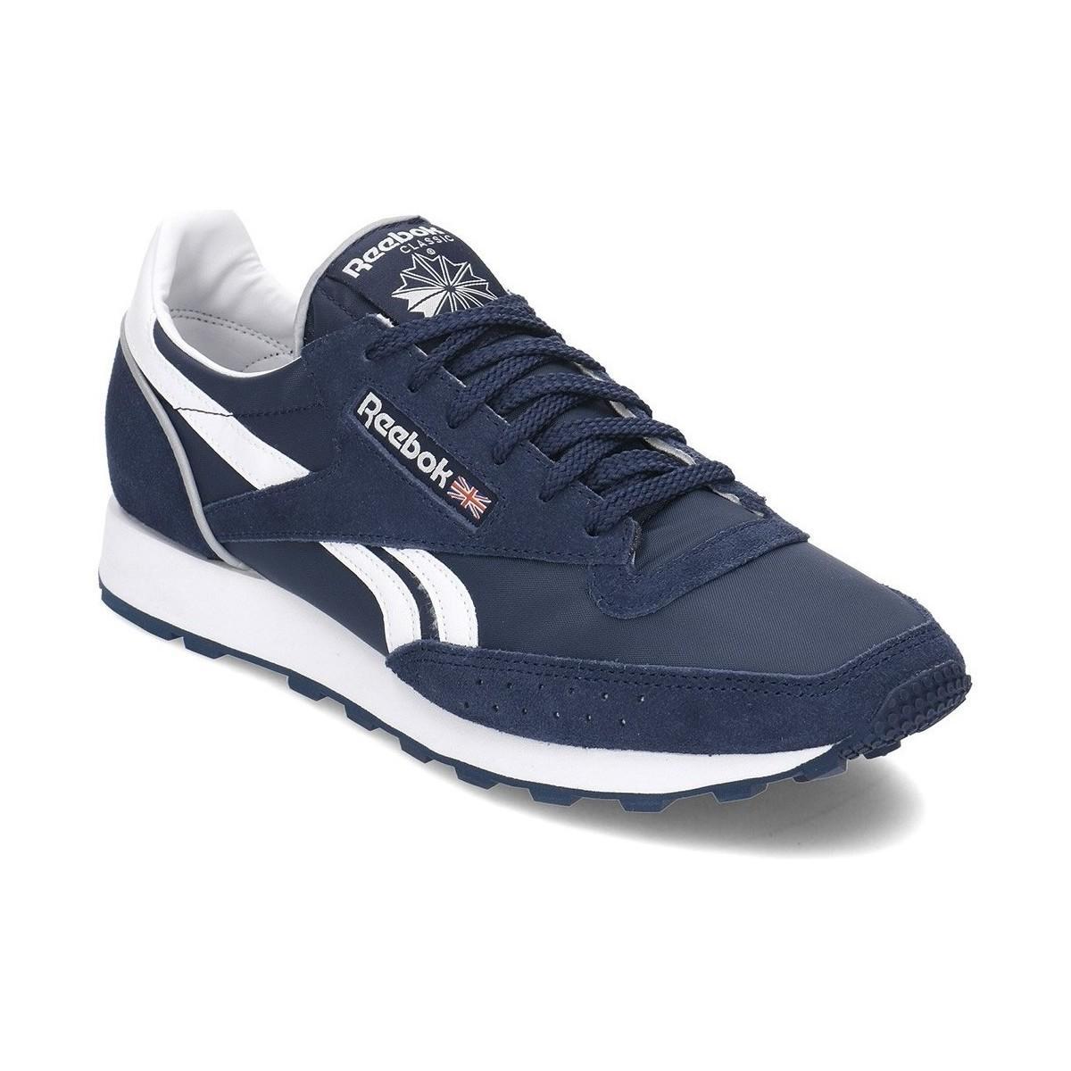 4691b8e23ce1a Reebok Classic 83 Mu Men s Shoes (trainers) In Multicolour in Blue ...
