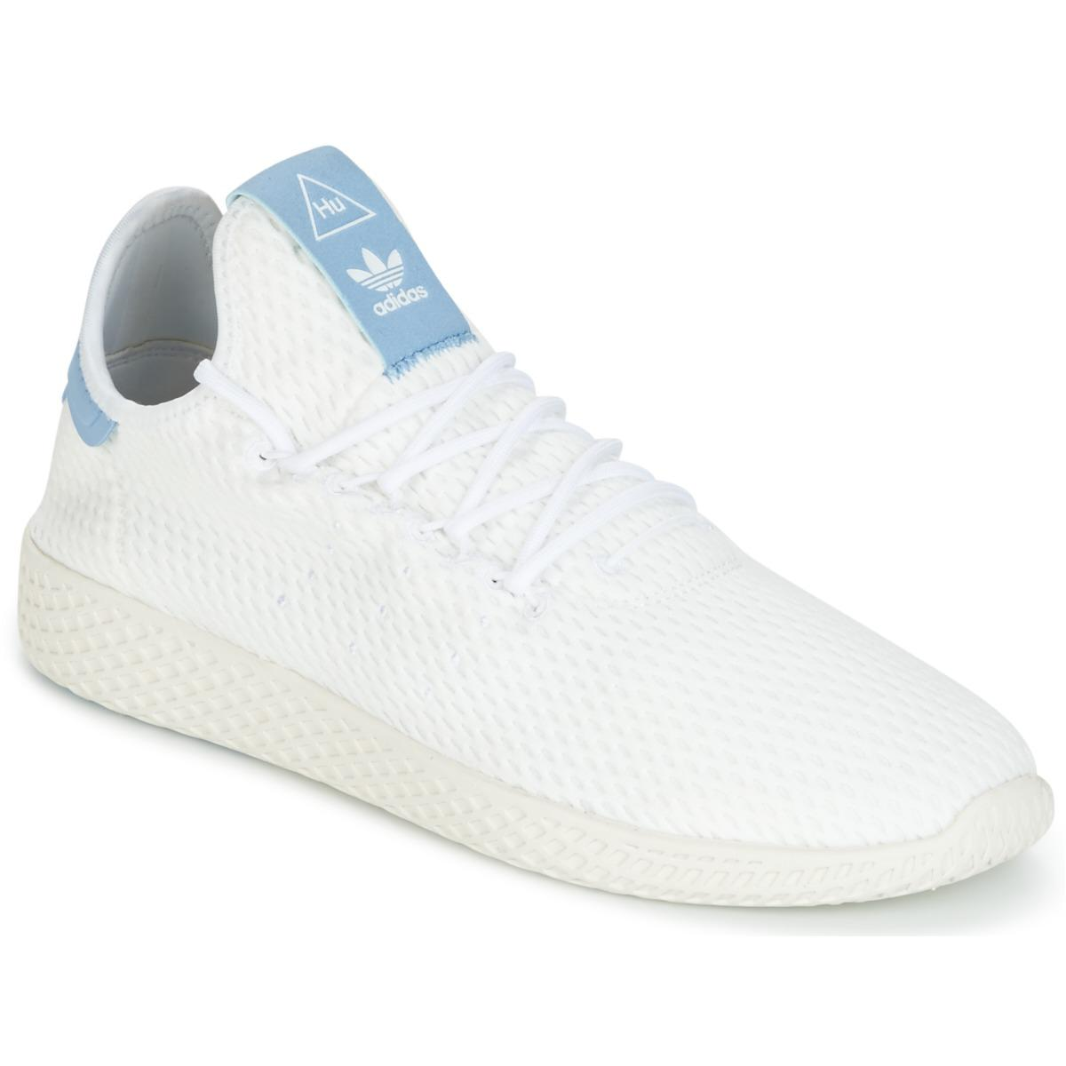 e1e3597c7f9d6 adidas Pharrell Williams Tennis Hu Men s Shoes (trainers) In White ...