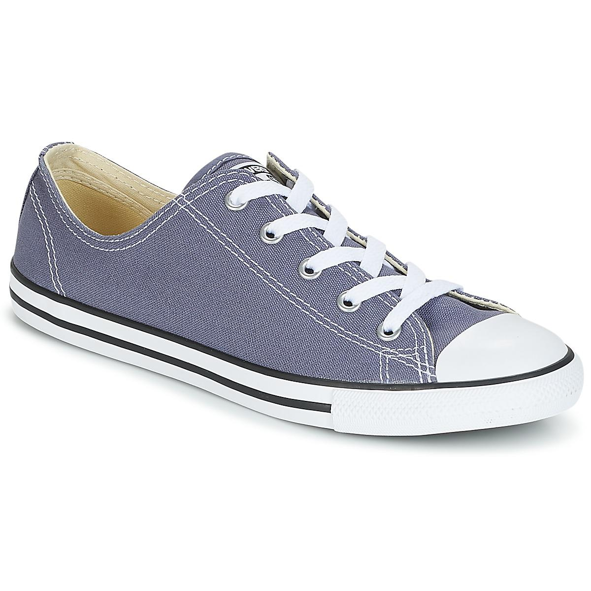 Converse. Chuck Taylor All Star Dainty Ox Women s Shoes (trainers) In Blue e3d2e6669