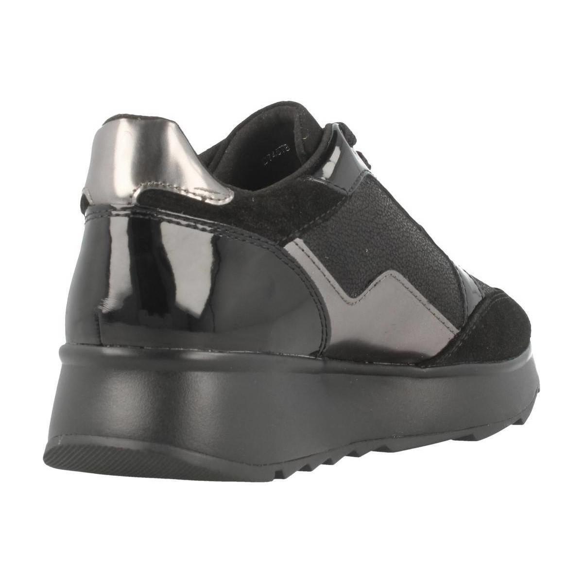 4fab74d10625 Geox - Black D GENDRY B. femmes Chaussures en Noir - Lyst. Afficher en  plein écran
