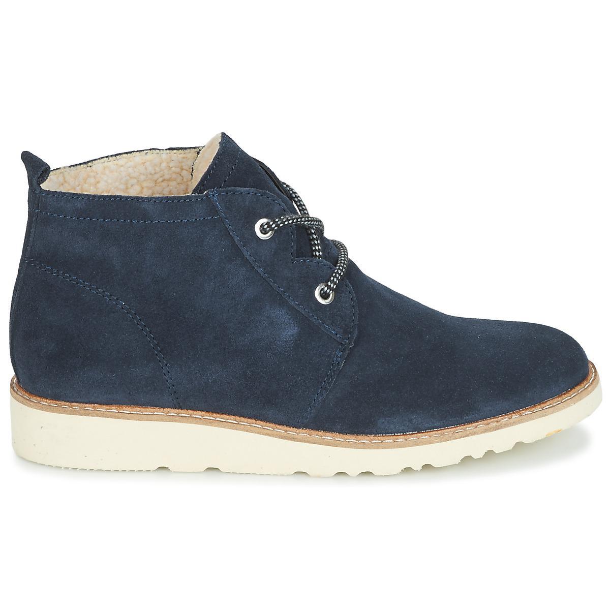 Women's Lyst Kajal Boots Esprit Blue Bootie Lu In Mid OHOPqtw8