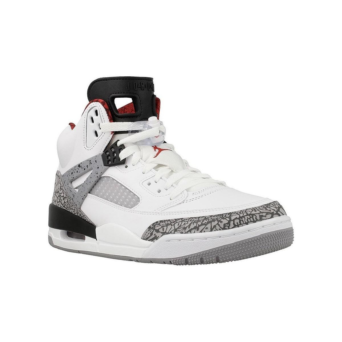 ccbb97bf20ae81 ... Nike Jordan Spizike Men s Mid Boots In White in White for Men - Lyst ...
