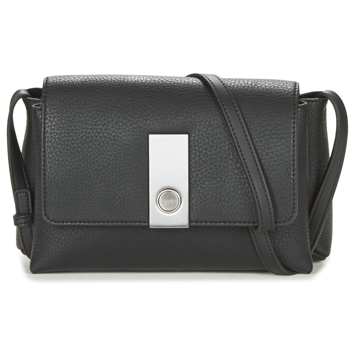 Calvin Klein Carrie Crossbody Women s Shoulder Bag In Black in Black ... f5136ba9ac