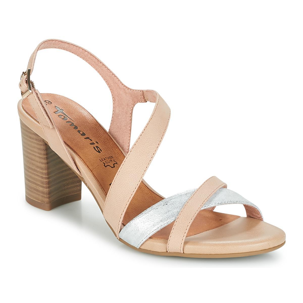 Lyst Tamaris Women's Pink Sandals In Facapon bgfy76