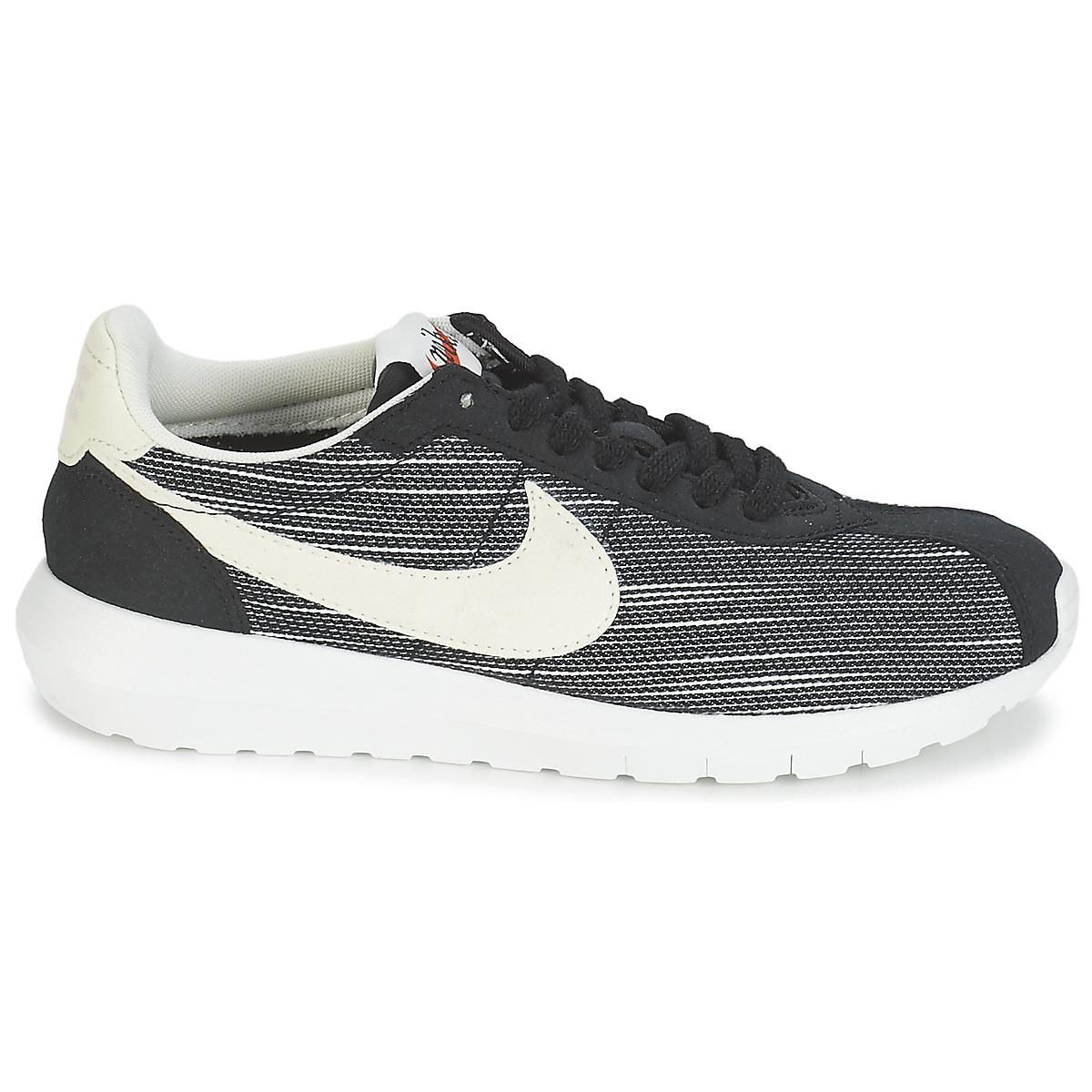 low priced 7e635 8bfa3 Nike - Roshe Ld-1000 W Women s Shoes (trainers) In Black - Lyst. View  fullscreen