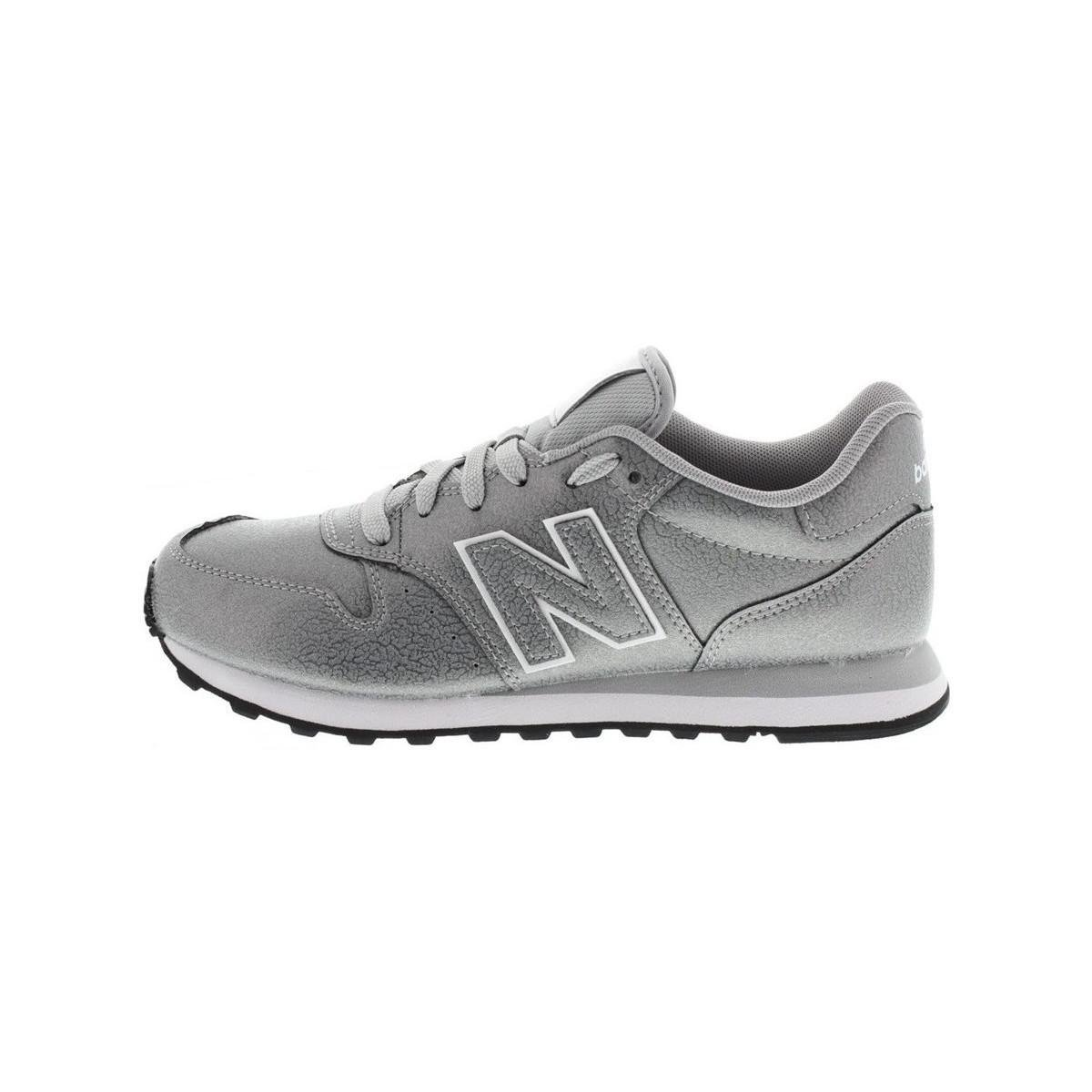 New Balance - Metallic 500 Women s Shoes (trainers) In Silver - Lyst 6553ee4f5a2